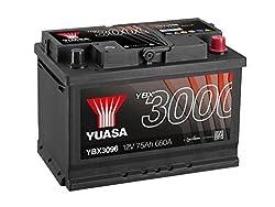 Yuasa YBX3096 SMF Starter Battery