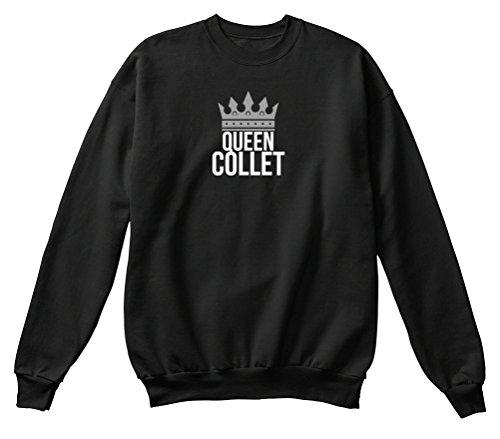 Teespring Men's Novelty Slogan Sweatshirt - Collet Simply Queen Collet