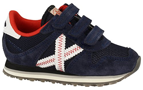 Munich Unisex-Kinder Mini Massana Sneakers Blue