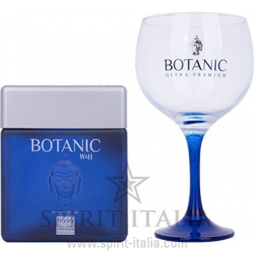 Botanic Ultra Premium London Dry Gin GB con Glas 45,00% 0.7 l.