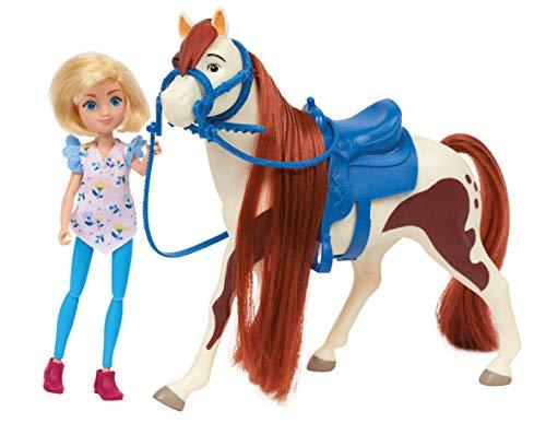 JP Spirit JPL39239 Spirit Kleine Puppe & Classic Pferde-Abigail und Boomerang, Nylon/A