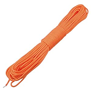 415S%2BFyY8ZL. SS300  - TOOGOO 100ft 7 Strand 550 Survival Bushcraft Paracord Parachute Cord Lanyard TYPE III - Orange