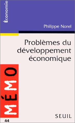 Problèmes du développement économique