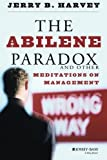 The Abilene Paradox and Other Meditations on Management by Harvey, Jerry B. (1996) Paperback