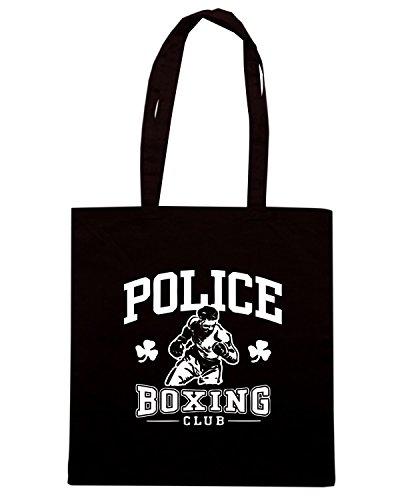 T-Shirtshock - Borsa Shopping TBOXE0084 irish police boxing Nero