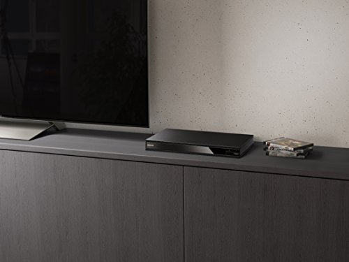 Sony UBP-X800 4K Ultra HD Blu-Ray Disc Player with High-Resolution Audio and Hi-Fi Quality – Black