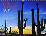 USA The West 2019: Großformat-Kalender 58 x 45,5 cm -