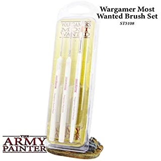 The Army Painter - Wargamers Most Wanted Brush Set by The Army Painter