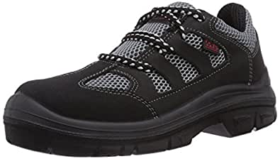 Mts Sicherheitsschuhe Marin S1p Flex 40119, Chaussures de sécurité Mixte adulte - Noir (schwarz/grau), 43 EU