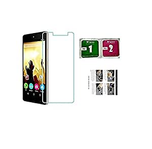 Magic Tempered Glass 2.5 Curve screen Protector For Micromax Canvas Fire q386