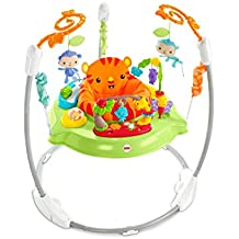 Fisher-Price CHM91 - Trotteur Jumperoo Jungle - Jouet Musical