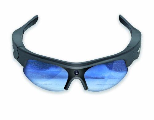 Sportxtreme overlook gx-5 occhiali sportivi con videocamera incorporata, 3 megapixel, risoluzione video hd720p, lenti polarizzate, angolo di ripresa 63 gradi, 4 lenti intercambiabili, nero