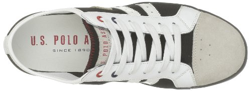 US Polo Assn Brock1, Baskets mode homme Noir (Blk/Ice)