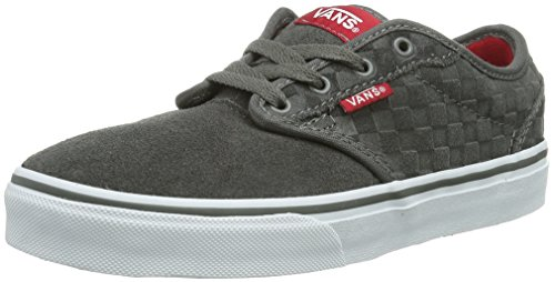 Vans Y ATWOOD Unisex-Kinder Sneakers Grau ((Suede Checker) / DYB)