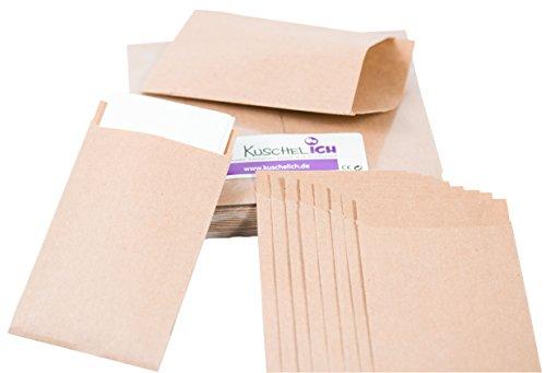 Folienbeutel wei/ß//grau//rosa- 5 cm Durchmesser Papiert/üten Sticker f/ür Geschenke KuschelICH runde DANKE Aufkleber mit Herz rosa, 50 stk.