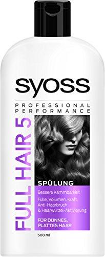 Syoss Spülung Full Hair 5, 3er Pack (3 x 500 ml)