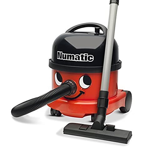 NUMATIC NRV200C2 Commercial Vacuum, 780 Watt, 230V, Red/Black by NUMATIC