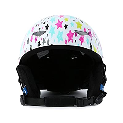Asdomo Children Boys Girls Ski Snowboarding Helmet Roller Skating Protecter Helmet for Outdoor Climbing Winter Sport Cycling Roller Skating by Asdomo