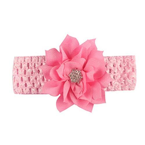 Baby Girls Stirnbänder Chiffon Blume Lace Band HaarAccessoires Haarband für Neugeborene kleinkind mädchen Haarband 1Pc
