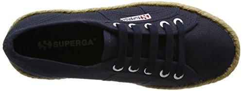 Superga Unisex-Erwachsene 2790 Cotropew Sneaker Blau (Navy)
