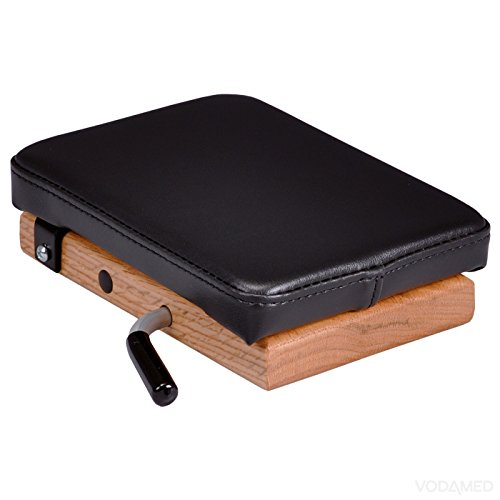 Thuli Speeder Board (mit Beule) - Einzelner Kissen Drop - Kompakt Chiropraktik Gerät - Tragbare Drop für Justierung - Chiropraktik Drop Schwarz