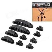 Generic LQ ..1.. ..3515.. LQ clips T fascette e gestione Tidy kit TV PC TV K auto g nero cavo Tidy New auto da scrivania Ole Games console NV _ 1001003515-cnuk22_ 998