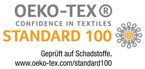 Matt & Rose Einhorn Wende Bettwäsche Set 135×200+80x80cm, 100% Baumwolle Biber/Flanell, Regenbogen 45803