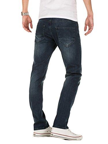 Yazubi Herren Jeans Juan slim Blau (Insignia Blue 194028)