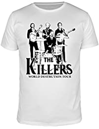 FABTEE - The Killers World Destruction Tour, Fun Shirt Man, Size S-4XL