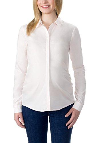bellybutton Schwangerschaftsmode Damen, Bluse, ARIANA - Bluse 1/1 Arm, Beige (angel Wing 4030), 36