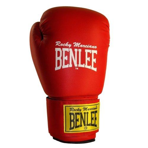 BENLEE Rocky Marciano Leder Boxhandschuh Fighter, Rot/Schwarz (RED/BLACK), GröM-_e: 8 Oz. Preisvergleich