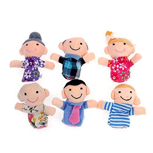 Ogquaton Marionetas Familiares Lindas 6pcs - Las Personas