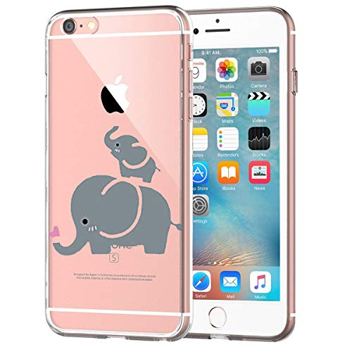 Caler Funda iPhone 6 iPhone 6S Case, Suave TPU Gel Silicona Ultra-Delgado...