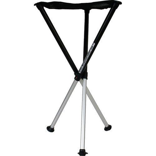 Walkstool Dreibeinhocker zum Mitnehmen Comfort schwarz 55 cm