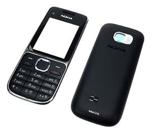 Nokia ensemble face avant cache c 2–01 tastaturmatte original brillant-argent