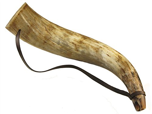 traditionally-handcrafted-ox-horn-bugle-trumpet-hunting-3-sizes-available