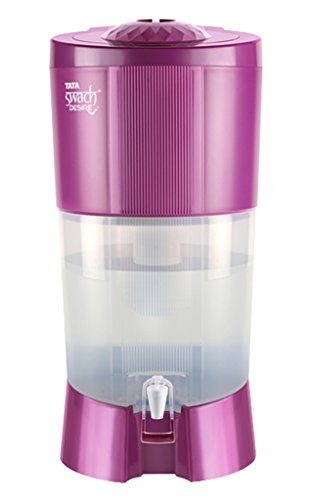 Tata Swach Desire With Gravity Based Water Purifier (27-litre , blooming Magenta)