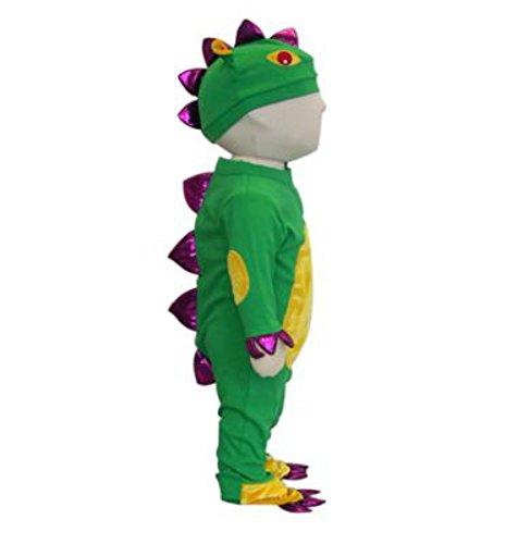 Baby Monster Grün Kostüme Baby (Baby Drachen Kostüm - Größe 6-12)