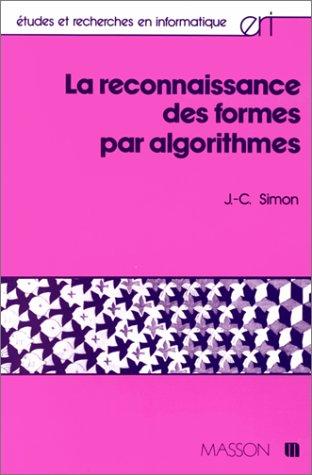 La reconnaissance des formes par algorithmes