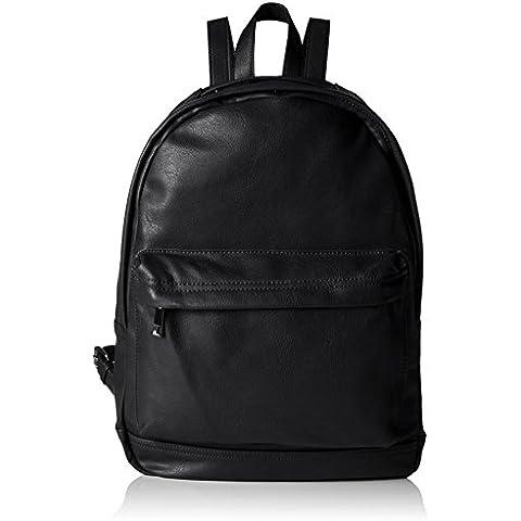 ALDO - ROBINIA, bolsa de medio lado Hombre, Negro (Black Leather/97), 35x42x16 cm (B x H x T)