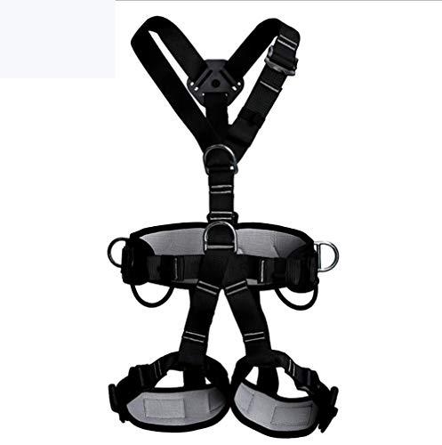 ZLQF 3 Punti di Sicurezza anticaduta Imbracatura di Caduta Protezione Completa Spallacci Regolabili. Agganci dorsali rapidi. Cintura separata.