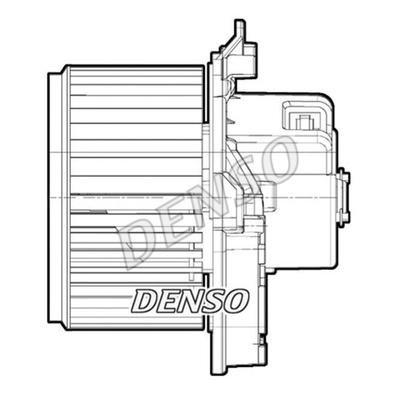 Denso DEA09071 Lüfter, Klimakondensator -