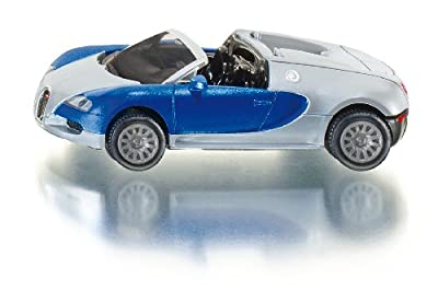 Siku 1353 - Coche Bugatti Veyron Grand Sport, varios colores de SIKU