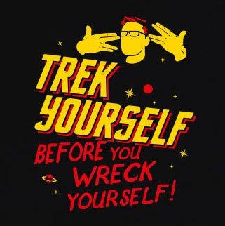 TEXLAB - Trek Yourself - Herren T-Shirt Navy
