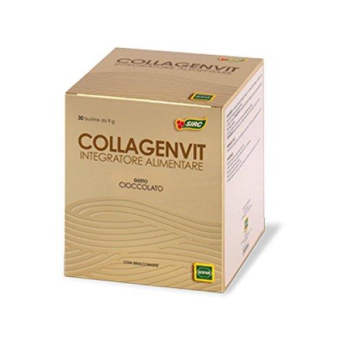 Sofar Collagenvit Integratore Alimentare Gusto Cioccolato 30 Bustine