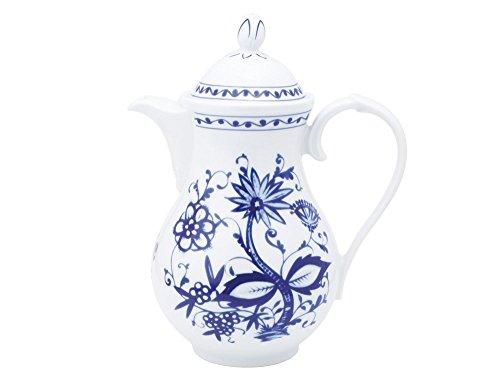 Kahla - Porcelaine pour les Sens 171105A72067U Rossella Zwiebelmuster Cafetière/Carafe Bleu 14 x 24 cm