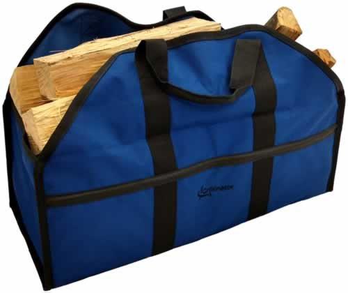 Grillinator Leña Log Carrier Tote Bolsa con la Exclusiva