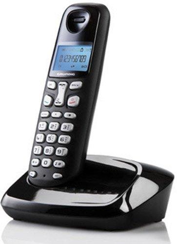 Grundig D160 DECT Schnurlostelefon schwarz
