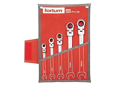 FORTUM clé à cliquet clé, jeu de 5 pièces, 4720201