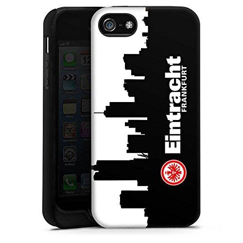 Apple iPhone 5s Hülle Case Handyhülle Eintracht Frankfurt Fanartikel SGE Fußball Tough Case matt